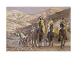 The Wise Men Journeying to Bethlehem  Illustration for 'The Life of Christ'  C1886-94