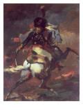 Officer of the Chasseurs Charging on Horseback