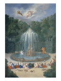 The Groves of Versailles View of the Star or Mountain of Water with Alph Persuing Arethusa