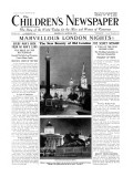 The New Beauty of Old London  from 'The Children's Newspaper'  September 1931