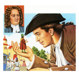 Gulliver&#39;s Travels  with Inset of its Author Jonathan Swift