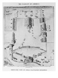 Bird's-Eye View of Ideal Plantation Buildings