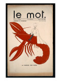 La Marche Sur Paris  Poster for &#39;Le Mot&#39;  Monday 7th January 1914