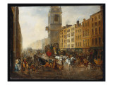 The London-To-Brighton Coach at Cheapside  18th July 1831