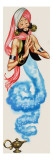 Genie Emerging from His Lamp  Illustration from 'Aladdin and His Wonderful Lamp'