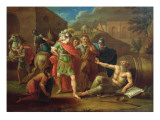 Alexander the Great Visits Diogenes at Corinth  1787