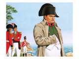 Napoleon Gazing Out at the Ocean from St Helena
