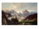 Mountain Landscape with the Grossglockner  1878