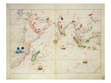 The Indian Ocean  from an Atlas of the World in 33 Maps  Venice  1st September 1553