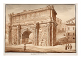 The Arch of Septimius Severus in the Year 1788  1833