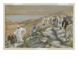 Ordaining of the Twelve Apostles  Illustration from 'The Life of Our Lord Jesus Christ'