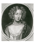 Portrait of Marie Angelique De Scoraille  Duchesse De Fontanges