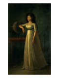 Donna Joaquina Tellez-Giron  Daughter of the Duke and Duchess of Osuna  1798