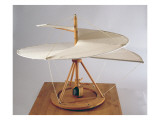 Model Reconstruction of Da Vinci's Design for an Aerial Screw