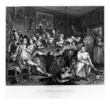 The Orgy  Plate Iii from 'A Rake's Progress'