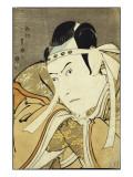 An Okubi Portrait of the Actor Ichikawa Yaozo Iii  Published by Uemura