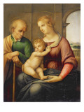 The Holy Family  or Madonna with the Beardless Joseph  C1506