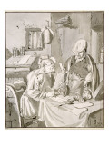Two Men Discussing Money in an Office  1672  Copied by Cornelis Ploos Van Amstel