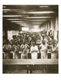Cooks in a Large Camp Mess Hall During the American Civil War
