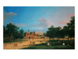 Old Horse Guards and the Banqueting Hall  Whitehall from St James's Park  1749