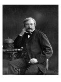Edmond De Goncourt  from 'Galerie Contemporaine'  C1874-78