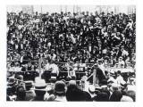 John L Sullivan V Jake Kilrain at Richburg  Mississippi on 18th July  1889