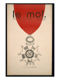 La Cicatrice  Front Cover of &#39;Le Mot&#39;  Saturday 30th January 1915