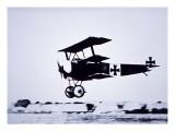 Captain Baron Von Richthofen Landing His Fokker Triplane