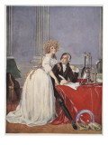 Lavoisier and His Wife  Copy by Boris Mestchersky