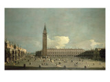 Extensive View of the Piazza San Marco