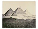 The Pyramids of El-Geezeh from the South West  1858