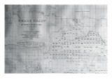 Whale Chart of the North Pacific  1851