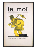 Front Cover of &#39;Le Mot  23rd January 1915