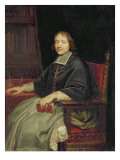 Portrait of a Cleric  Said to Be Jean Francois Paul De Gondi