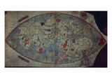 Genoese World Map  Designed by Toscanelli