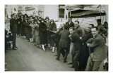 A Game of Tug of War Aboard an Ocean Liner