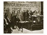 Venustiano Carranza at the Queretaro Convention  December 1917