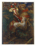 St George Slaying the Dragon  1908