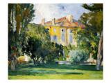 The House at Jas De Bouffan  1882-85