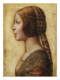 Head of a Young Girl in Profile to the Left in Renaissance Dress