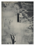 Anglo-American Incendiary Bombs Fall on Hamburg  1942-45
