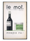 Front Cover of &#39;Le Mot&#39;  27th March 1915