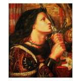 Joan of Arc Kissing the Sword of Deliverance  1863