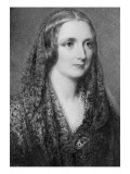Mary Shelley  an Idealised Portrait Created after Her Death