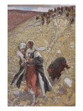 The Scapegoat  Illustration for 'The Life of Christ'  C1886-94