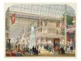 Great Exhibition  1851: Central Transept of the Crystal Palace