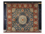 A Rare 'swan-House' Hammersmith Hand-Knotted Carpet  Morris and Co   C1890
