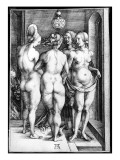Four Naked Women  or the Witches  1497