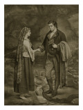 Betrothal of Robert Burns and Highland Mary  1785
