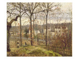 Winter Landscape at Louveciennes  C1870